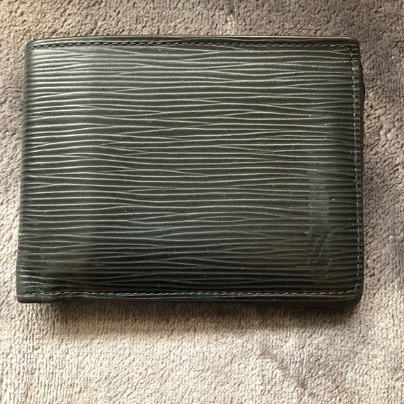 """ec40973d5105 Louis Vuitton Other - Louis Vuitton Noir """"Multiple"""" Wallet (men s)"""